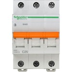Schneider Electric Домовой ВА63 Автоматический выключатель 3P 25A (C) 4.5kA, Schneider Electric