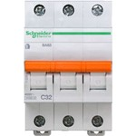 Schneider Electric Домовой ВА63 Автоматический выключатель 3P 32A (C) 4.5kA, Schneider Electric