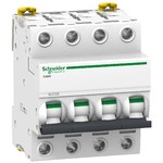 Schneider Electric Acti 9 iC60N Автоматический выключатель 4P 4A (C), Schneider Electric