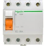 Schneider Electric Домовой ВД63 УЗО 4P 25A 30mA AC, Schneider Electric