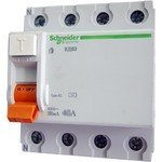 Schneider Electric Домовой ВД63 УЗО 4P 63A 300mA AC, Schneider Electric
